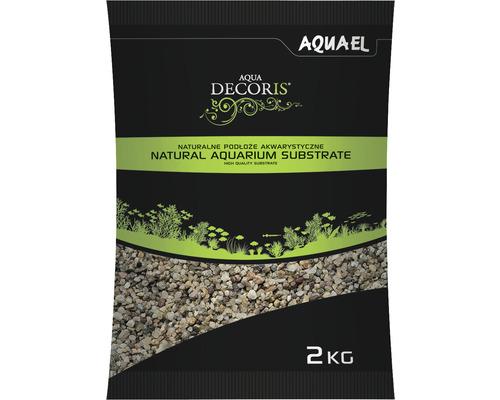 Substrat AQUAEL naturel multicolore 1,4-2 mm 2kg