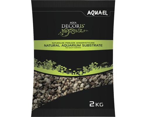 Substrat AQUAEL naturel multicolore 3-5 mm 2 kg