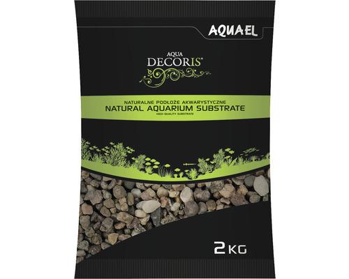 Substrat AQUAEL naturel multicolore 5-10 mm 2 kg
