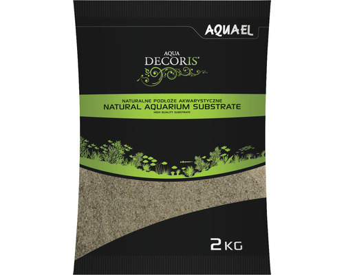 Sable d''aquarium AQUAEL Aqua Decoris sable quartzeux 0,4-1,2 mm 2 kg