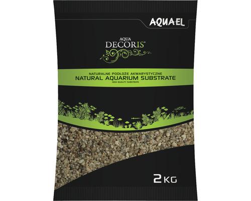 Gravier pour aquariums AQUAEL Aqua Decoris gravier quartzeux 1,6-4 mm 2 kg
