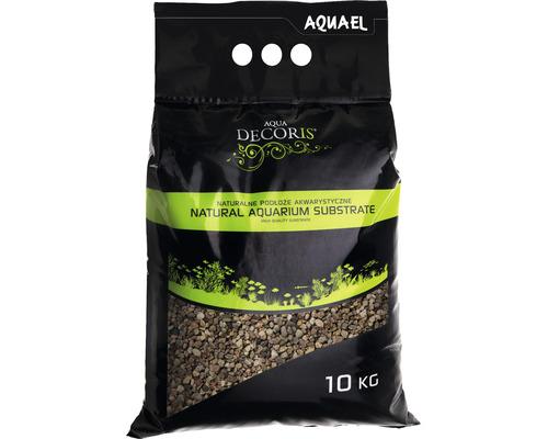 Substrat AQUAEL naturel multicolore 5-10 mm 10 kg