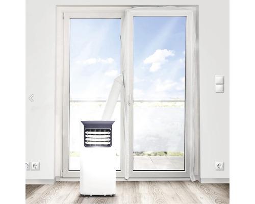 Joint de porte de terrasse pour climatiseur mobile en polyester 5,40m avec ruban auto-aggripant