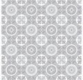 PVC Trendy Lagos aspect carrelage beige/gris largeur 200 cm (marchandise au mètre)