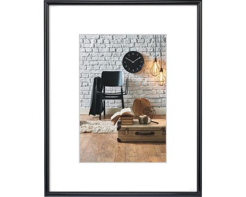 Bilderrahmen Kunststoff Sevilla schwarz 10x15 cm
