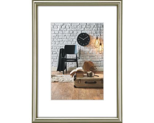 Bilderrahmen Kunststoff Sevilla grau-matt 10x15 cm