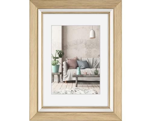 Bilderrahmen Kunststoff Cozy natur 10x15 cm