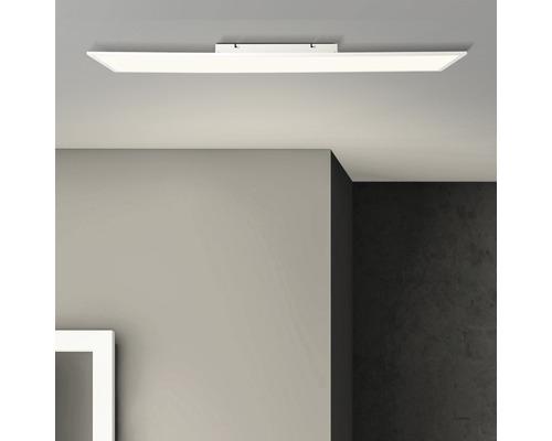 Structure de panneau LED IP20 1x36W 3600lm 2700K blanc chaud 1200x300mm Buffi blanc