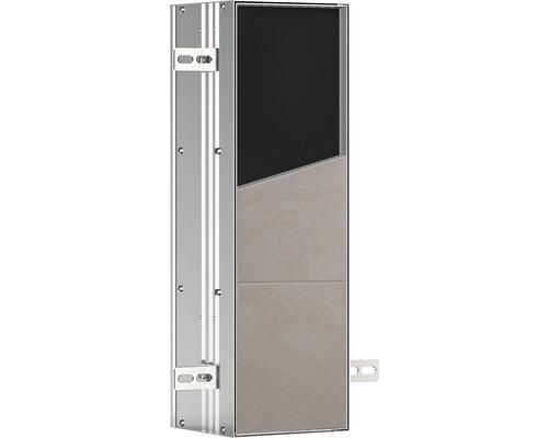 Ensemble brosse WC emco asis plus pour montage encastré 492 mm 975611009