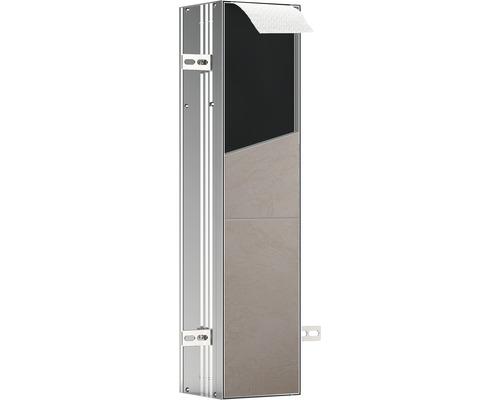 Module WC emco asis plus pour montage encastré retrait par le haut 658 mm butée à gauche 975611012