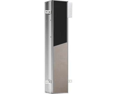 Module WC emco asis plus pour montage encastré 803 mm butée à gauche 975611000