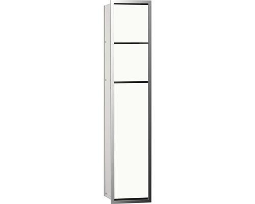 Module WC emco asis 150 pour montage encastré 809 mm optiwhite/chrome 975027850