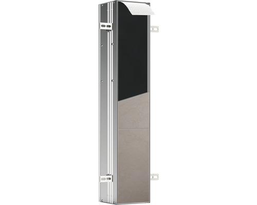 Module WC emco asis plus pour montage encastré retrait par le haut 803 mm butée à droite 975611011