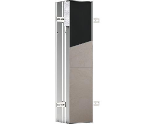 Module WC emco asis plus pour montage encastré 658 mm butée à droite 975611007