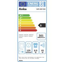 Sèche-linge à condensation Amica WTK 487 030 8 kg-thumb-1