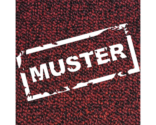 Échantillon de moquette Massimo chiné rouge