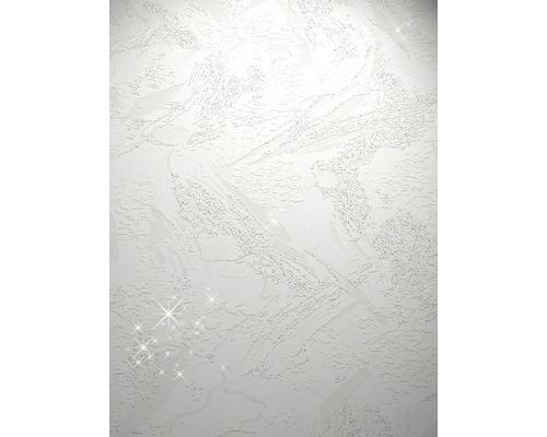 Papier peint mousse grillage 1 blanc 10,05 x 0,53 m