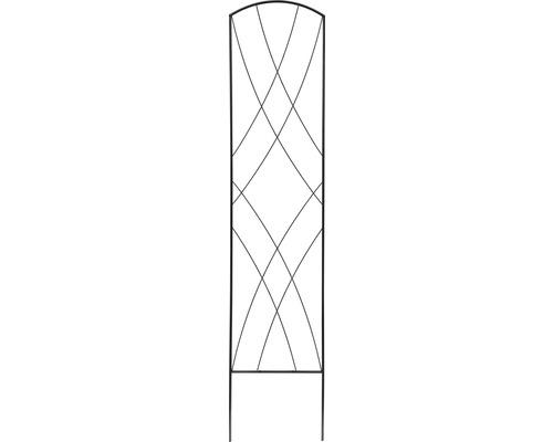 Treillis dé décoration 30x150 cm noir