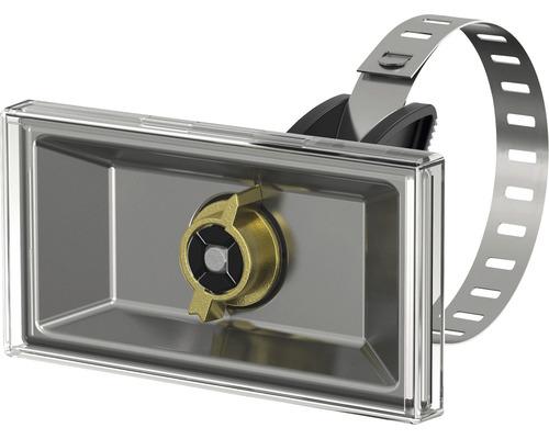 Porte-étiquette Simplex 100 x 50 mm avec élastique F55002