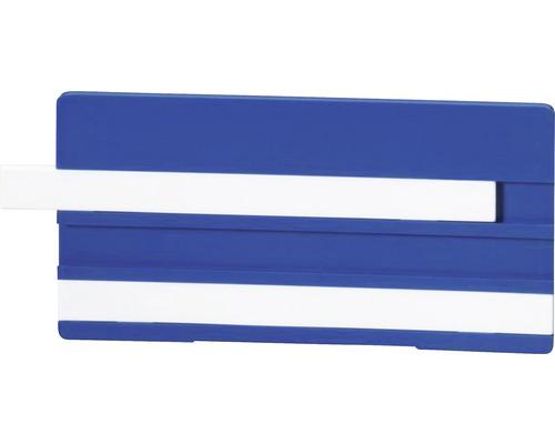 Étiquette de marquage Simplex 100 x 50 mm pour écrire avec deux lignes bleu F55103