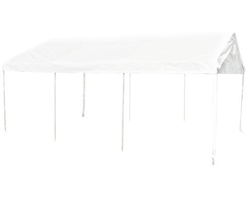 Tente de réception professionnelle 400 x 600 cm blanc