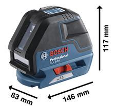 Linienlaser Bosch Professional GLL 3-50 inkl. 4 x Batterie (AA) und Laserzieltafel-thumb-5
