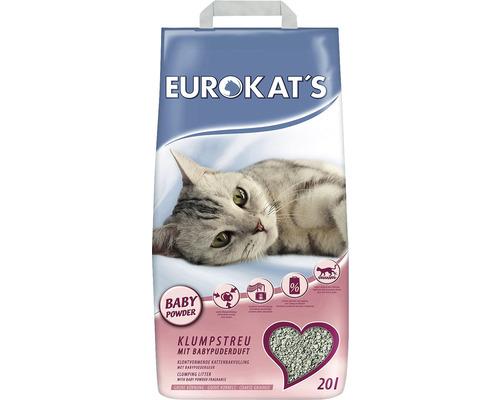 Katzenstreu EUROKATS Babypuder 20 l