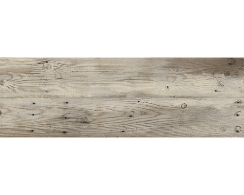 Dalle de terrasse en grès cérame fin Skagen marron mat 120x40x2 cm rectifiée