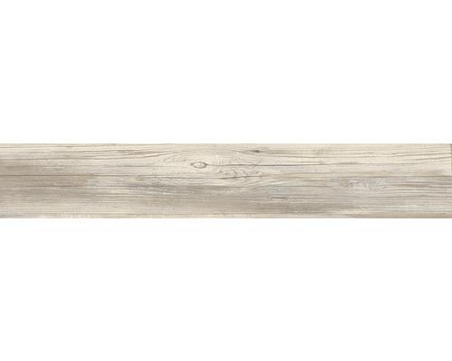 Carrelage sol et mur en grès cérame fin Skagen Dark 20 x 120 cm rectifié