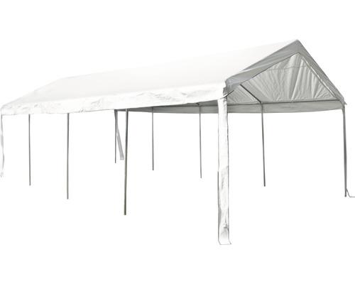 Tente de réception professionnelle 400 x 800 cm blanc