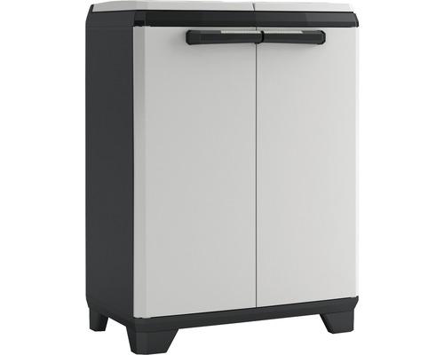 Armoire de recyclage Split Premium noir plastique 220 l
