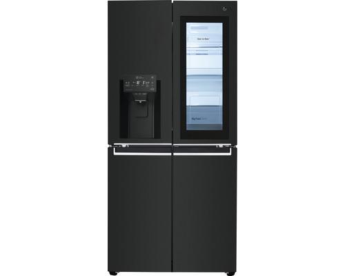 Réfrigérateur multi-portes LG GMX844MCKV lxhxp 83,5x178,7x73,4 cm compartiment de réfrigération 288 l compartiment de congélation 220 l 393 kWh/an