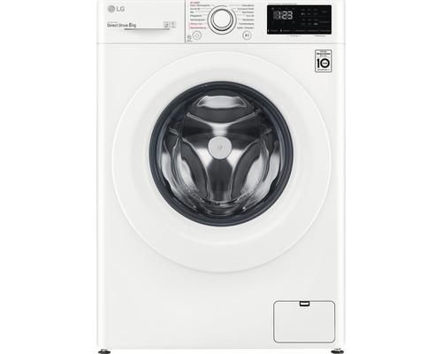 Machine à laver LG F14WM8LN0E contenance 8 kg 1400 tr/min