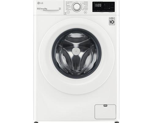 Machine à laver LG F14WM9EN0E contenance 9 kg 1400 tr/min