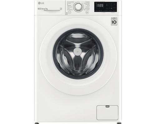 Machine à laver LG F14WM7LN0E contenance 7 kg 1400 tr par min