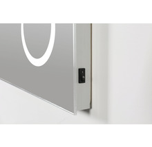 LED Badspiegel DSK Silver Arrow 60x80 cm IP 24 (spritzwassergeschützt)-thumb-7