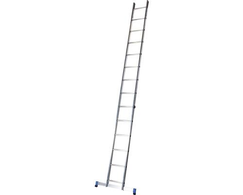 Échelle simple WERNER 14 échelons aluminium longueur 3,95 m
