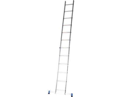 Échelle simple WERNER 1 x 12 échelons aluminium longueur 3,40 m