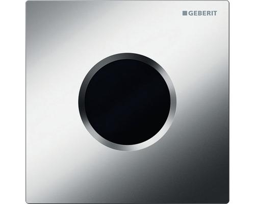 Commande d''urinoir GEBERIT type 01 sans contact infrarouge fonctionnement sur secteur chrome brillant satiné 116.021.46.5