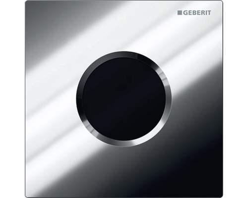 Commande d''urinoir GEBERIT type 01 sans contact infrarouge fonctionnement sur secteur chrome brillant 116.021.21.5