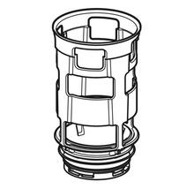 Geberit Bassin avec joint et étrangleur pour réservoir de chasse d''eau encastré Omega 243.096.00.1-thumb-0