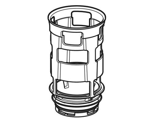 Geberit Bassin avec joint et étrangleur pour réservoir de chasse d''eau encastré Omega 243.096.00.1-0