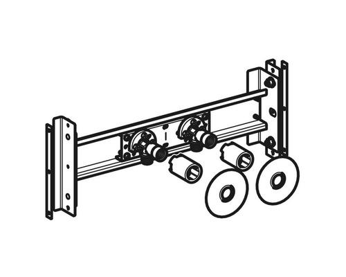 GE Duofix Traverse pour mitigeur pose en saillie variable 111.787.00.1-0