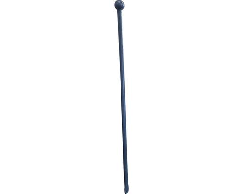 Pflasterbrechstange mit Knopf und Schneide, 1250x30mm, blau