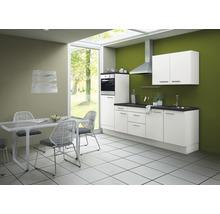 Cuisine complète Optifit Bengt largeur 270 cm couleur de façade blanc, couleur de corps blanc avec électroménager KCBE 2751DE-8+-thumb-0