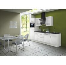 Cuisine complète Optifit Juna969 largeur 280 cm couleur de façade blanc, couleur de corps blanc avec électroménager KRJU 2886EC-3+-thumb-0