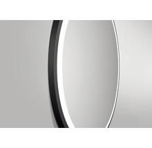 LED Badspiegel DSK Black Circular matt Ø60cm IP 24-thumb-1