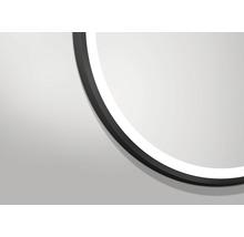 LED Badspiegel DSK Black Circular matt Ø60cm IP 24-thumb-2