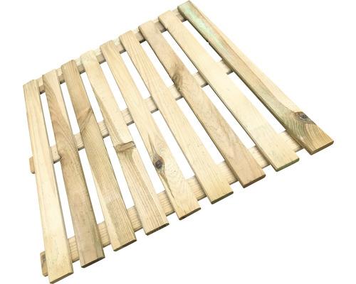 Dalle en bois 50x50 cm, imprégné en autoclave