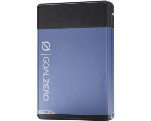 Batterie externe Flip 36 Goal Zero bleu 36Wh, 10.500 mAh (3,6V)